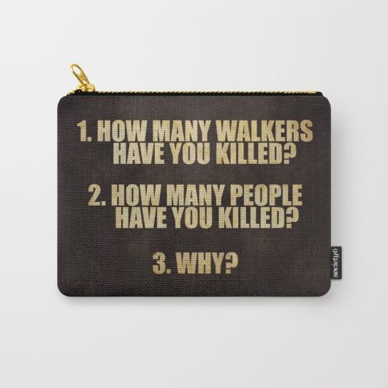 Walking Dead 3 Questions | Transform Design Group